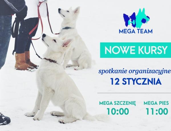 Spotkanie organizacyjne – MEGA Szczenię i MEGA Pies 12.01.2019
