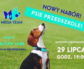 Start nowego przedszkola: 29.07. godz. 19:00